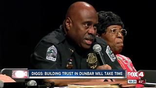 Chief says community trust will take more time