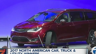 Car and Truck/Utility of the Year winners announced at North American International Auto Show - Video