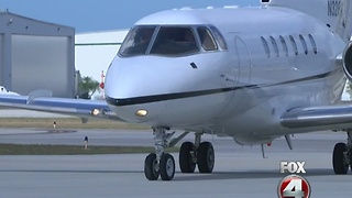 Naples Airport seeing near-record business - Video