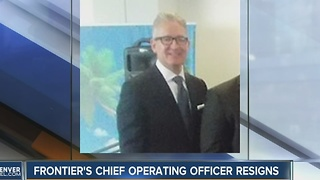 Frontier's chief operating officer resigns - Video
