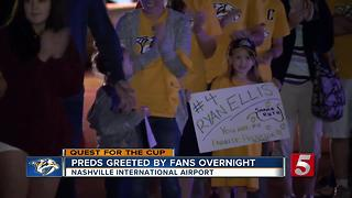 Preds Back Home After Tough Game 5 Loss In Pittsburgh - Video