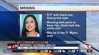 Missing Collier County Teen - Video