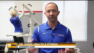 Dr. Derek With Alessi Fitness Shows Us How to Get Fit! - Video