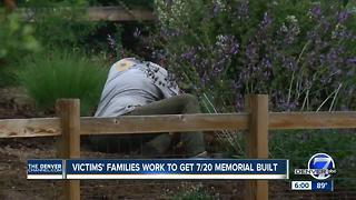 Family of victims in Aurora Theater shooting work to get 7/20 Memorial built - Video