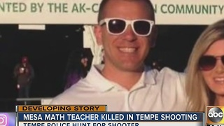 Mesa math teacher shot and killed in Temple - Video