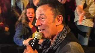 Bruce Springsteen Captured in Slow Motion During Baltimore Concert - Video