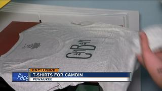 Dousman children make 'Cambam'  t-shirts for friend in a coma after bus accident - Video