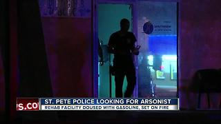 St. Pete Police looking for arsonist - Video