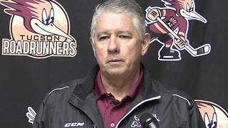 Roadrunners GM Doug Soetaert speaks on condition of Craig Cunningham - Video