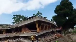 Aceh Earthquake Kills Dozens and Levels Buildings - Video