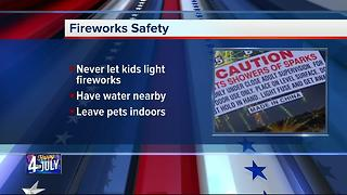 Fireworks safety and regulations - Video