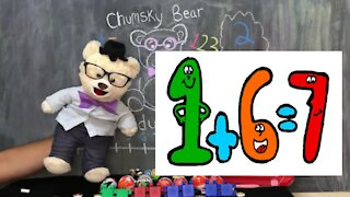 Learn to Add with Chumsky Bear | Math | Addition | Educational Videos for Kids
