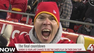 Sunday is your last chance to see the Chiefs play at home - Video