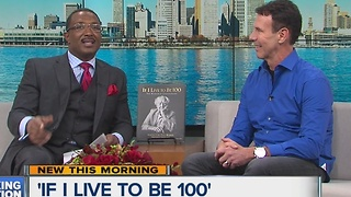 Paul Mobley stops by to talk about his new book 'If I Live to be 100' - Video