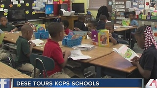 DESE officials tour KCPS schools - Video