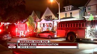 One person dead in south side fire - Video
