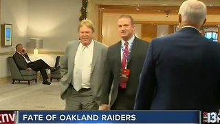 Possible Oakland Raiders move discussed at Texas meeting - Video
