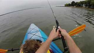 Daddy-Daughter Kayak Fishing Trip Is a Success - Video