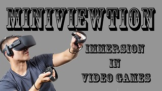 Miniviewtion: Immersion in Video Games