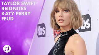 Taylor Swift releases music the same day as Katy Perry - Video