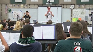 Palmetto Ridge High School Band needs help fundraising - Video