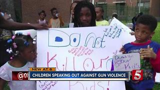 Children Rally Against Gun Violence