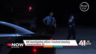 Suspect ID'd in Leavenworth police shooting - Video