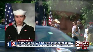 Navy sailor laid to rest in Broken Arrow - Video
