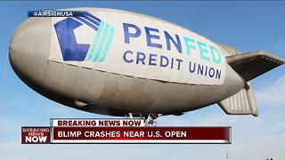 Advertisement company addresses blimp crash - Video