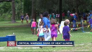 Critical warning signs of heat illness - Video