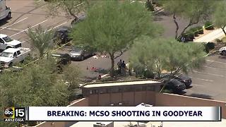 AIR15 VIDEO: MCSO involved in shooting in Goodyear - Video