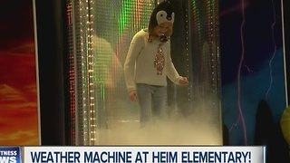Andy Parker's Weather Machine Visits Heim Elementary - Video