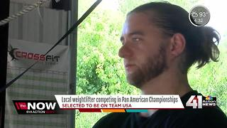 KC local competing in national weightlifting competition - Video