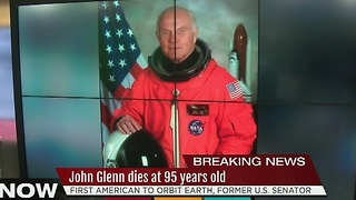 John Glenn dies at 95 - Video