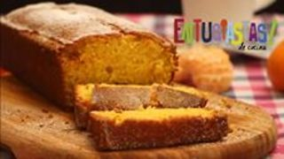 Budín húmedo de mandarinas con cáscara. - Video