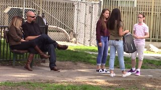Social experiment: How will people react when they see bullying? - Video