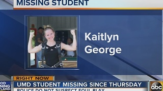 Missing 21-year-old UMD student last seen in Baltimore City - Video