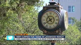 Lakewood Ranch entertainment district gets tough on teens - Video