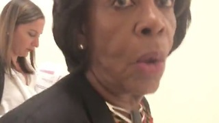 Investigative Journalist Confronts Maxine Waters In Halls of Congress!