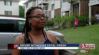 Witness speaks after deadly motorcycle crash