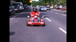 German Go-Karts Hit The Road - Video