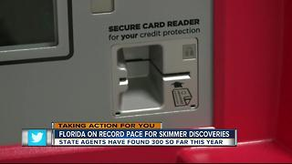 Florida officials warn of increase in skimmers at gas stations - Video