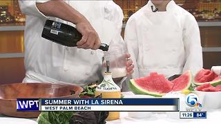 Summer watermelon recipe from La Sirena restaurant - Video