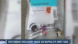 Disturbing discovery made on Buffalo's west side - Video