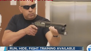 Law enforcement offers training for active shooter situations