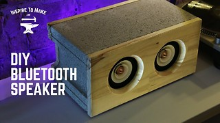 Here's How To Make A Stylish Bluetooth Speaker  - Video