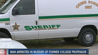 Murder arrest of former college professor