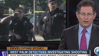 West Palm Beach detectives investigating shooting - Video