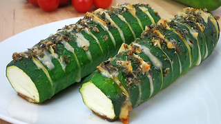 Hasselback zucchini recipe - Video