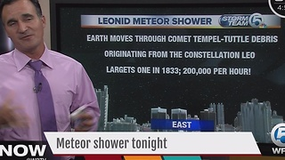 Leonid Meter Shower - Video
